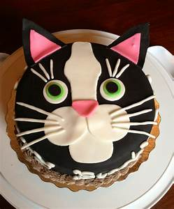 Birthday Cakes Images. Charming Cat Birthday Cakes Animal ...