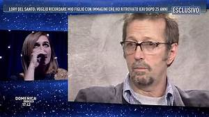 Lory Del Santo ricorda a 'Domenica Live' il figlio Conor ...