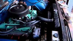 U0026 39 68 Plymouth 383 Alternator Beltage