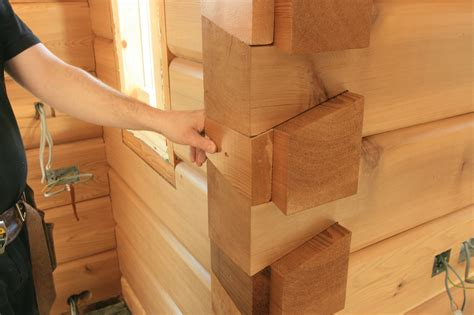 building  stud wall   internal dovetail corner