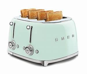 Smeg Toaster Creme : the new smeg 50 39 s retro style 4 slice toaster a little ~ A.2002-acura-tl-radio.info Haus und Dekorationen
