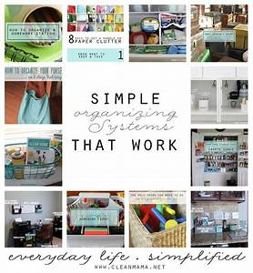 Simple, Organizing, Systems, That, Work