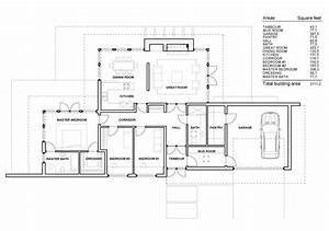 Contemporary One Story House Plans Modern One Story House ...