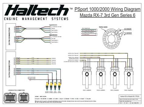 haltech problems starting the car with the new platinum 1000 help rx7club com mazda rx7