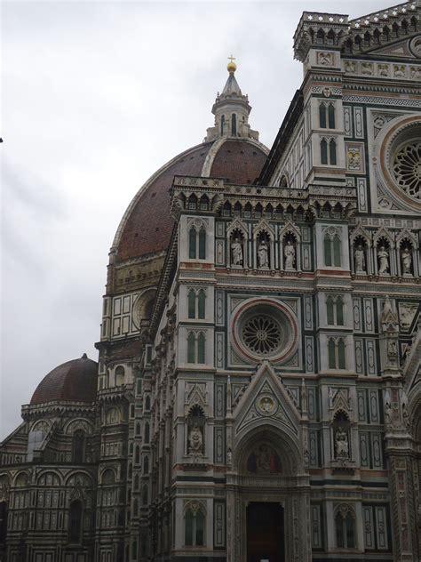 Florence. Skats uz Florences katedrāles ( Santa Maria del Fiore) kupolu, arhitekts F ...