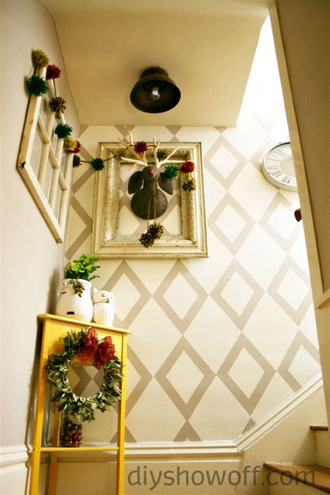 decorating ideas for staircase landing stair and landing before and after makeover diy show