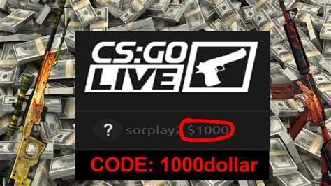 csgolive promo code code dollar youtube