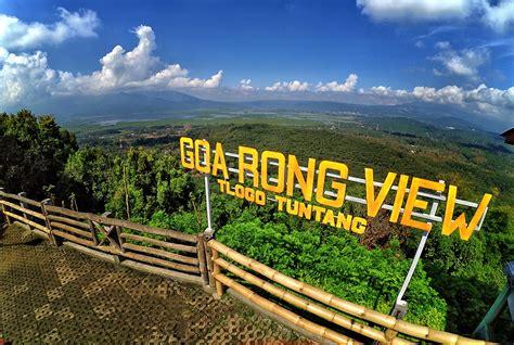 wisata goa rong view tlogo resort tuntang salatiga