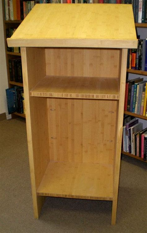 wood lectern plans   build  amazing diy