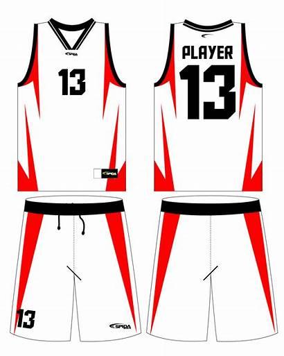 Basketball Jersey Jerseys Clipart Blank Template Clip