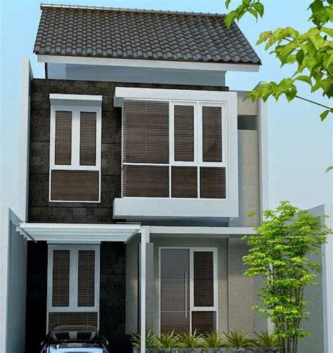 gambar desain rumah kecil lantai dua rumah en