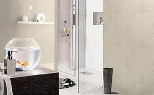 tapeten furs badezimmer bei hornbach schweiz With markise balkon mit tapeten für das badezimmer
