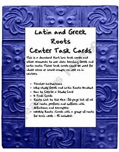 Greek and latin meanings
