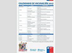 Calendario Vacunas MINSAL Chile 2017 EnfermeriaAPS