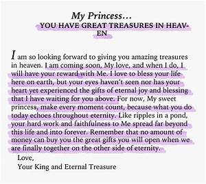 his princess love letters from your king sheri rose With love letters from god to his princess