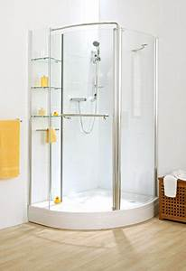Cipini Verona Corner Storage Shower With Shelving Unit