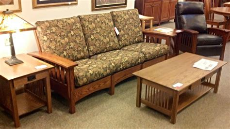 Mission Loveseat Recliner by Binghamton Furniture Mission Sofa Recliner