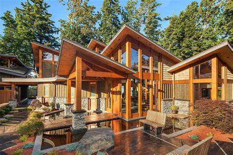 Luxury Contemporary Timber Frame Oceanfront Estate