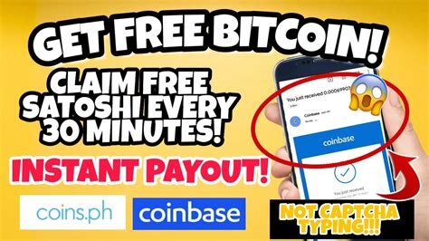 Claim your free bitcoin cash from the faucet once every 15 minutes. Get Free Bitcoin - Claim Free Satoshi Every 30 Minutes - YouTube