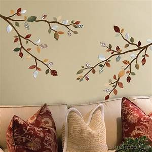 tree reflection wall decals wall decals san francisco With what kind of paint to use on kitchen cabinets for wall art decals trees