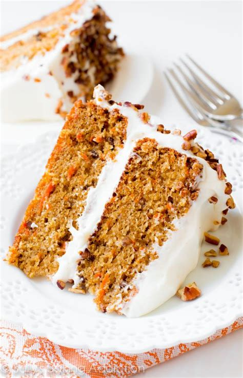 super moist carrot cake  cream cheese frosting recipe