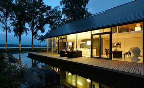 Moderne Häuser Am See by Kaspar Holzbau H 228 User Haus Am See