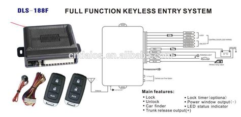Automate Remote Start Wiring Diagram by Universal Car Auto Remote Central Door Lock