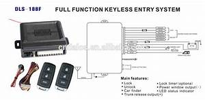 Cheap And Economic Keyless Entry System With Easycar Car Keyless Door Lock