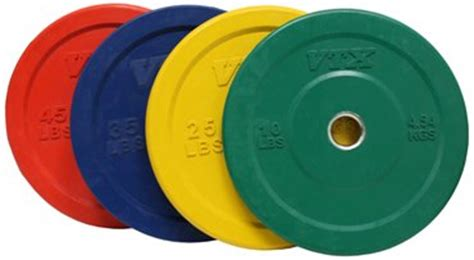 troy barbell olympic   rubber bumper plates colored  fitness superstore