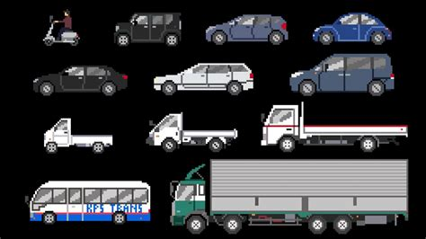 street vehicles  cars trucks  kids picture show fun educational learning video