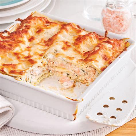 cuisine lasagne lasagne au saumon facile à faire recettes cuisine et