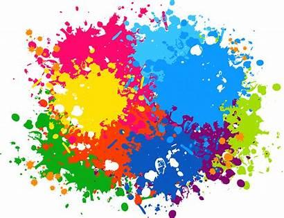 Splash Paint Transparent Clipart Colour Frame Colors