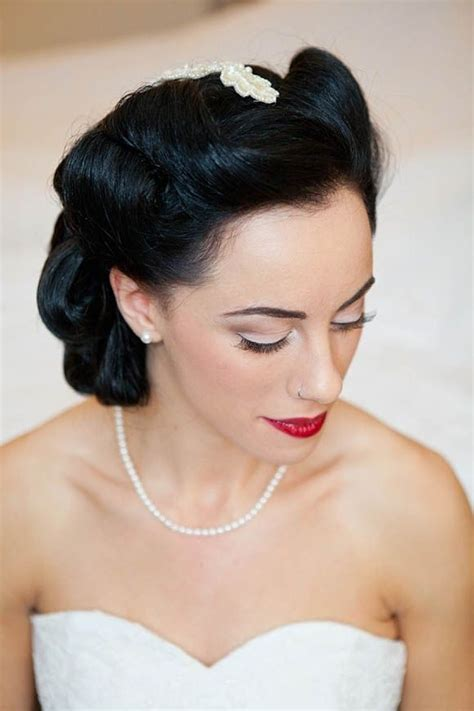 1940s Wedding Hairstyles by 1940s Style Hair And Makeup Circus Inspired Table Names