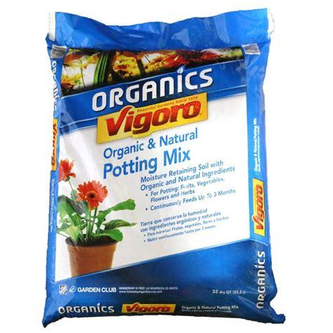 vigoro organic garden soil vigoro 69 cu ft organic potting soil half pallet of 65