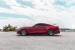 Ruby Red Mustang GT | Velgen Wheels Classic5 | SVTPerformance.com