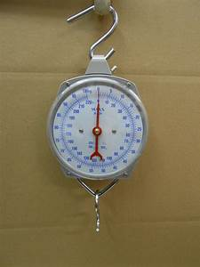 New 220lbs Hang Up Spring Scale Dial Weight Game Scale