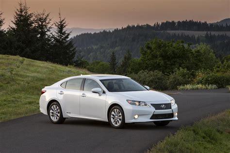 2014 Lexus Es 300h Rated At 40 Mpg
