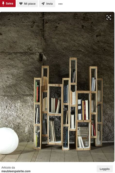 librerie fai da te originali libreria fai da te il riciclo in legno