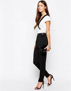 Combinaison Pantalon Femme Habillée : combi pantalon femme apprenez vous mettre en valeur ~ Carolinahurricanesstore.com Idées de Décoration