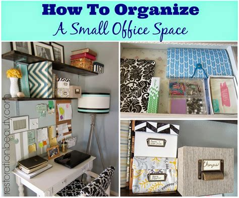 Small Space Organizers :  How To Organize A Small Office/work