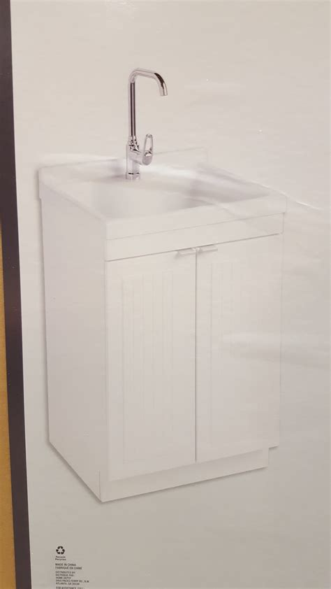 Glacier Bay Laundry Tub Home Depot by Home Depot Ymmv Glacier Bay Carlton All In One Laundry