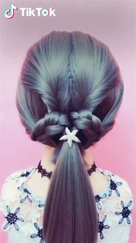 super easy to try a new hairstyle download tiktok