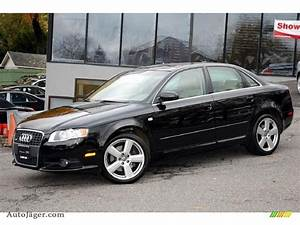 Audi A4 2008 : 2008 audi a4 3 2 quattro s line sedan in brilliant black ~ Dallasstarsshop.com Idées de Décoration