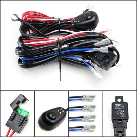 Ijdmtoy Output Universal Fit Relay Harness Wire Kit With