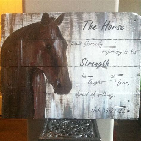 horse pallet project completed projects wood