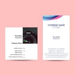 create visiting card design  premium business cards