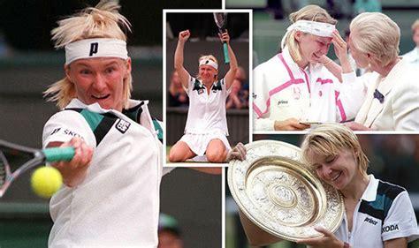 jana novotna dead  wimbledon champion dies aged   tributes flood  tennis sport
