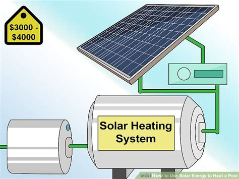 solar powered heat l 3 ways to use solar energy to heat a pool wikihow