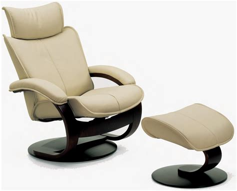 leather lounge chair with ottoman fjords ona ergonomic leather recliner chair ottoman