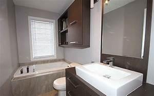 Style De Salle De Bain : salle de bain style contemporain industries dme ~ Teatrodelosmanantiales.com Idées de Décoration